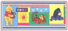 ❤  Disney Winnie The Pooh Cozy Quilt - Stick Up REMOVABLE WALL BORDER NEW ❤