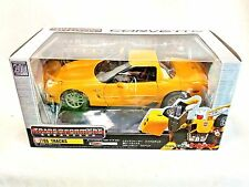 Takara Transformers BINALTECH (Alternators) BT06 TRACKS Yellow Die Cast 1:24 JP