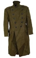 1) large Eastern Military Long Wool Button Down Coat, Jacket Army Surplus