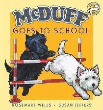 McDuff Goes to School (McDuff Stories)-ExLibrary