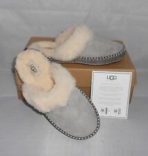 UGG WOMEN'S AIRA SLIPPER SHOES SEAL GREY SIZE 8  NEW IN BOX