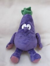 "ALFIE AUBERGINE GOODNESS GANG 10-12"" CO-OP SOFT TOY FRUIT & VEGETABLE"