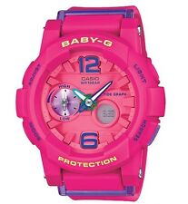 Casio Baby-G * BGA180-4B3 Anadigi G-Lide Pink Resin Watch Women COD PayPal