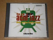 THIS IS ACID JAZZ VOL. 5 (DJ YAMAGUCHI, COUNT BASIC) - CD COME NUOVO (MINT)