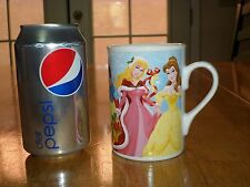 WALT DISNEY - Collection of # 6 Images of Disney Princesses, CERAMIC Coffee Cup