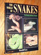 THE WORLD OF SNAKES by Peter Brazaitis - 30 page color guide