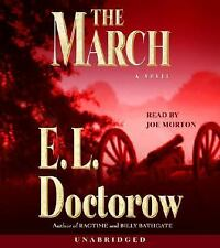 1 CENT AUDIOBOOK The March - E. L. Doctorow SEALED/10 DISCS/CIVIL WAR FICTION