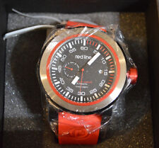 Men's Red Line Designer Watch S.S., Water Resist, Torque Sport or Chronograph