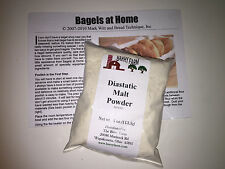 Malt Powder, diastatic, 4 ounces packaged by Barry Farm (refill - no tin)