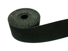 "10 Metres 2"" Wide Black Rubber Upholstery Settee Chair Seat Furniture Webbing"