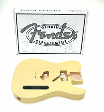 FENDER USA TELECASTER® BODY (VINTAGE BRIDGE) - VINTAGE BLONDE 099-8005-707