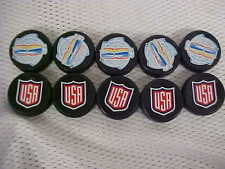 Official 2016 World Cup Of Hockey Team U.S.A. Mini Puck Charms Lot of (10)
