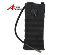 2.5L Molle Hydration Water Bag Pack Pouch Backpack Bladder Climbing Hiking Black