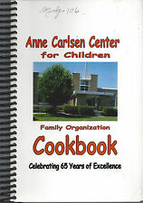 *JAMESTOWN ND *ANN CARLSEN CENTER FOR CHILDREN COOK BOOK *NORTH DAKOTA RECIPES