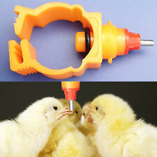 5pcs Automatic Poultry Water Nipple Safe Useful Drinker Feeder Chicken Duck Hen