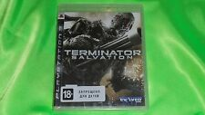 Terminator Salvation Playstation 3 PS3 Brand new, Sealed.