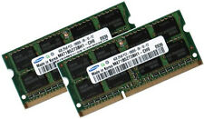 2x 4GB 8GB DDR3 1333 RAM für MSI Notebook GT70 0ND SAMSUNG PC3-10600S