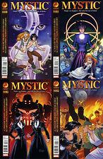 Mystic (2011) 1 - 4 COMPLETE MINI-SERIES [CrossGen]
