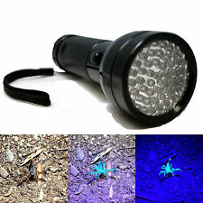 NEW Ultra Violet 51 UV LED Torch Scorpion Detector Finder Blacklight Flashlight