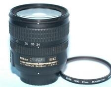 Nikon 24-85mm f3.5-4.5G Nikkor AF-S SWM IF ED Asph. lens for DSLR - Ex+...(Read)