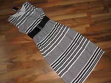 CHILLYTIME Shirt-Kleid schwarz-weiß 40 Stripes Stretch Stretchkleid NEU