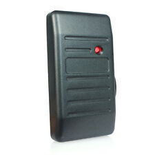 125KHz Access Control Proximity Card Reader EM-ID Reader Wiegand 26/34+TRACK as