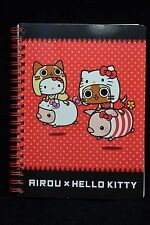 Sanrio Hello Kitty x Capcom Airou from the Monster Hunter B6 60 Pages Notebook R