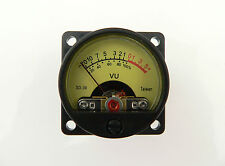 Illuminated mini VU Meter for Valve Amplifiers EL34 6L6 preamps back lit SD39
