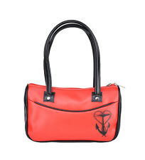 Küstenluder SEEMANNSLIEBE Anchor Retro Sailor TASCHE / Red Bag - Rot Rockabilly