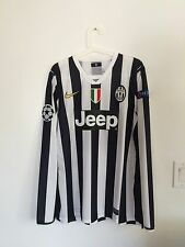 JUVENTUS 2013-14 UCL #10 TEVEZ MATCH ISSUED UNWORN SHIRT MAGLIA JERSEY SIGNED!