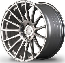 """20"""" MIRO 110 SILVER CONCAVE WHEELS FOR INFINITI G35 COUPE STAGGERED RIMS SET (4)"""