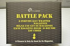 SIX 10 round 7.62x39 Stainess Steel C Products Defense Magazines - Battle Pack