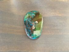 Big, Beautiful Ithaca Peak (Kingman, AZ) Turquoise Cabochon, 42 Carats.