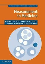 Practical Guides to Biostatistics and Epidemiology: Measurement in Medicine :...