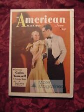 AMERICAN June 1934 David Garth Don Marquis Leona Dalrymple Margaret Craven +++