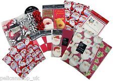 LUXURY XMAS CHRISTMAS WRAPPING TAGS PAPER BOWS GIFT BAGS WRAP KIT PACK RRP £22+