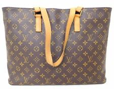 *Authentic LOUIS VUITTON Monogram canvas Luco Shopper Tote Bag Spain M51155