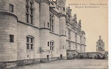 BF11484 loches chateau royal i et l  france front/back image