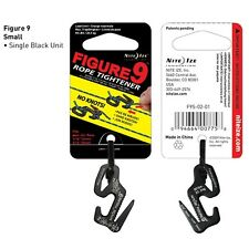 Nite Ize Figure 9 Rope Tightener Small Black