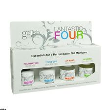 Harmony Gelish - Fantastic Four - Base, Top, Nourish & pH Bond - 15ml each