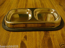 #N   DOG OR CAT BOWL 2 PAN!  HIDDEN DIVERSION SECRET SAFE / CAN / COMPARTMENT