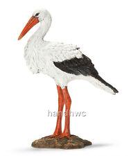 Schleich 14674 Stork Wild Bird Animal Retired Model Toy Figurine - NIP