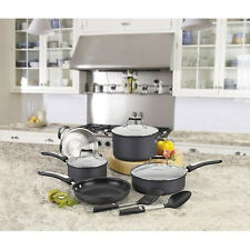 NEW Cuisinart Pro Classic 10 Pc Non-stick Hard Anodized Aluminum Cookware Set!
