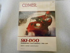 Clymer Snowmobile Ski Doo 1985 - 1989 Shop manual Reparaturanleitung