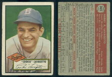(33350) 1952 Topps 365 Cookie Lavagetto Dodgers-MK Ink-GD