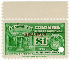 (I.B) Colombia Revenue : State Duty $1 (specimen)