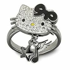 Swarovski Hello Kitty Rock Ring size 55 NIB #1145275