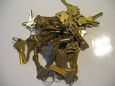 SCHLAGE ORIGINAL FACTORY PRECUT KEYS LOCKSMITH 25 SETS OF 2 SC-1 50 KEYS 25 pair