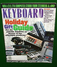 2002 Korg microKorg, Roland XV-2020 MC-09, AKAI Z8 KEYBOARD Reviews, Magazine