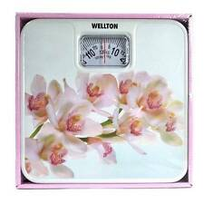 Wellton Bathroom Mechanical Weighing Scale Flower Design